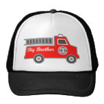 Coche de bomberos hermano mayor gorra