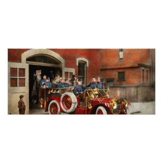 Coche de bomberos - la escuadrilla 1911 del vuelo lonas