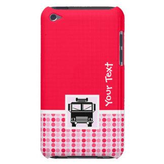 Coche de bomberos lindo iPod touch Case-Mate carcasas