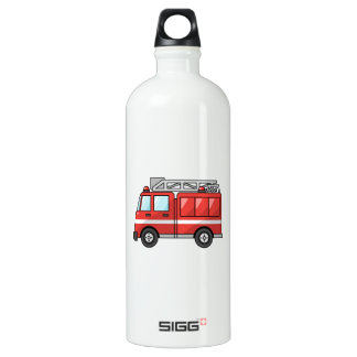 Coche de bomberos/motor frescos del dibujo animado