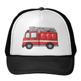 Coche de bomberos motor frescos del dibujo animado