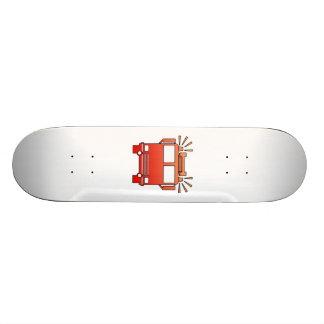 Coche de bomberos patines personalizados