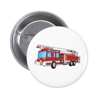 Coche de bomberos pin