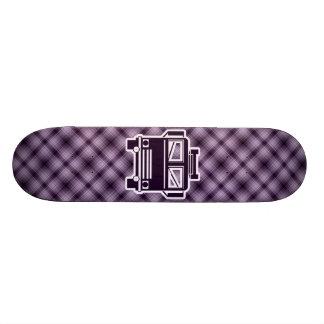 Coche de bomberos púrpura tablas de skate