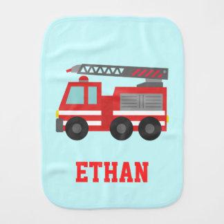 Coche de bomberos rojo lindo para los pequeños bom paños para bebé