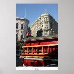 Coche de bomberos, San Francisco Poster
