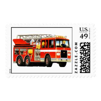 Coche de bomberos franqueo