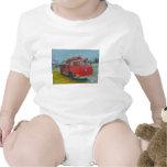 coche de bomberos viejo del wawa por el ciervo trajes de bebé