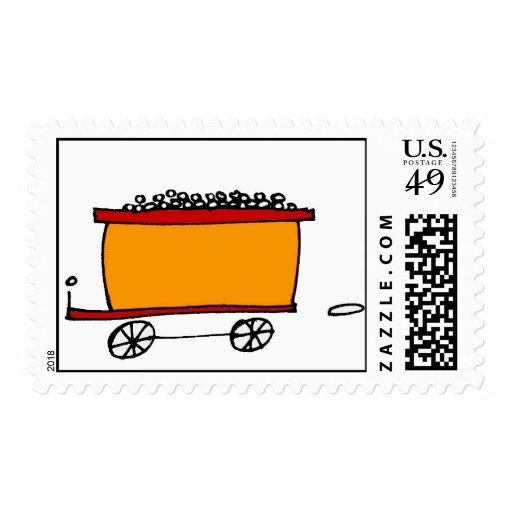 coche de carbón envio
