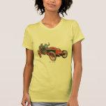 Coche de carreras 1902 de Renault Camisetas