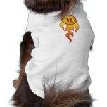 Coche de carreras camisa de mascota