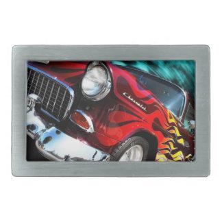 Coche de carreras de Chevy del vintage Hebilla Cinturón
