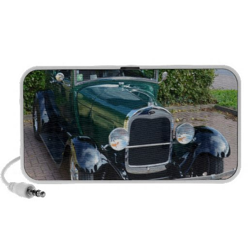 Coche de carreras de Ford del vintage iPod Altavoz
