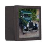 Coche de carreras de Ford del vintage Cajas De Recuerdo De Calidad