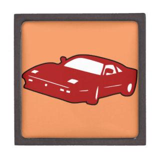 coche de carreras del deporte cajas de recuerdo de calidad