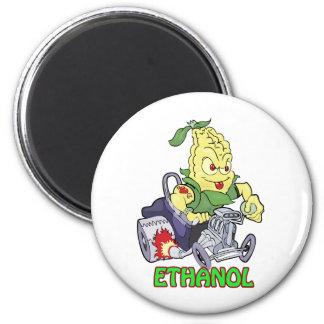 Coche de carreras del etanol imán redondo 5 cm