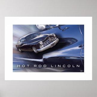 Coche de carreras Lincoln Impresiones