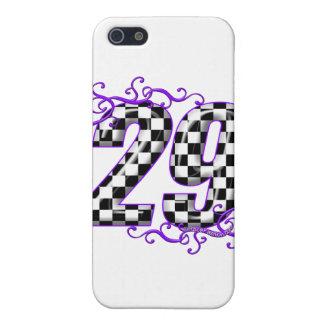 Coche de carreras número 29 iPhone 5 carcasa
