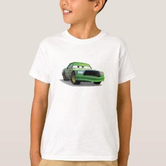 Coche de carreras verde Disney de los catetos del Camisas