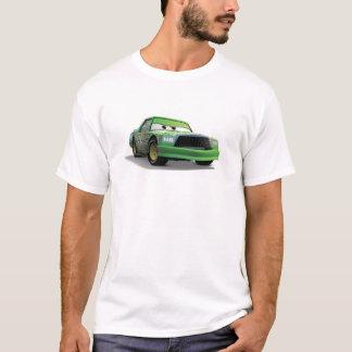 Coche de carreras verde Disney de los catetos del Playera