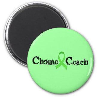 Coche de Chemo - cinta verde Imán Redondo 5 Cm
