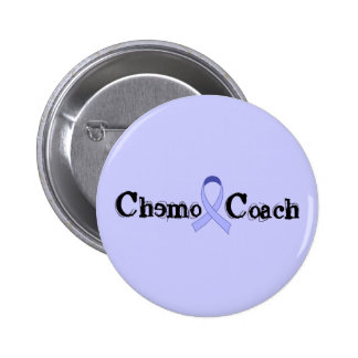 Coche de Chemo - general Cancer Lavender Ribbon Pin Redondo De 2 Pulgadas