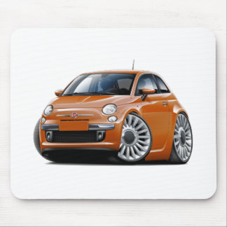 Coche de cobre de Fiat 500 Alfombrillas De Ratón