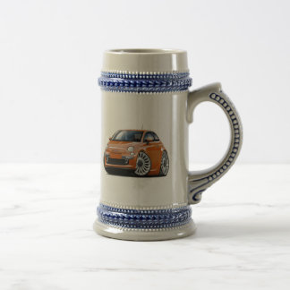 Coche de cobre de Fiat 500 Tazas