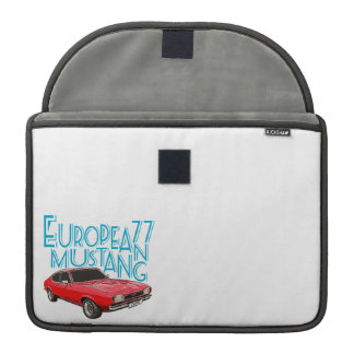 Coche de competición de Capri Fundas Para Macbooks