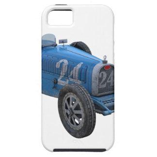 Coche de competición de Grand Prix en azul claro iPhone 5 Carcasa