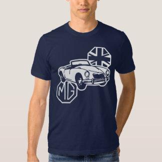 Coche de deportes británico clásico de MG MGA Polera