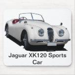 Coche de deportes de Jaguar XK120 Tapetes De Ratón
