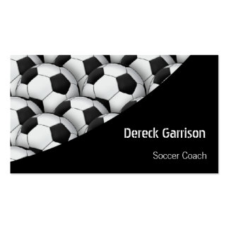 Coche de deportes del fútbol del fútbol el | tarjetas de visita