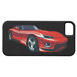 Coche de deportes rojo iPhone 5 Case-Mate carcasa
