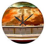 Coche de Dodge Relojes De Pared