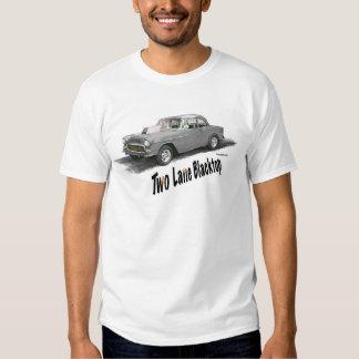 COCHE de dos calles '55 Chevy de la PELÍCULA del Remera