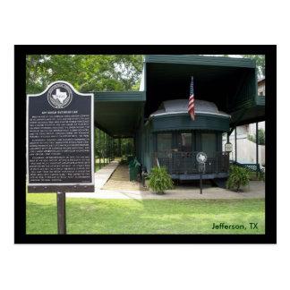 Coche de ferrocarril de Jay Gould Postales