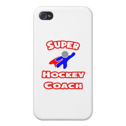 Coche de hockey estupendo iPhone 4/4S carcasa