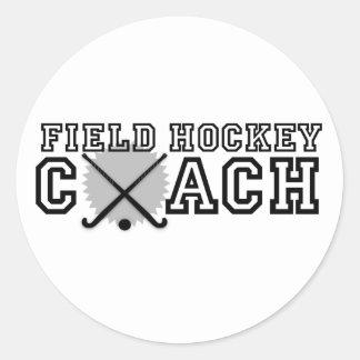 Coche de hockey hierba pegatinas