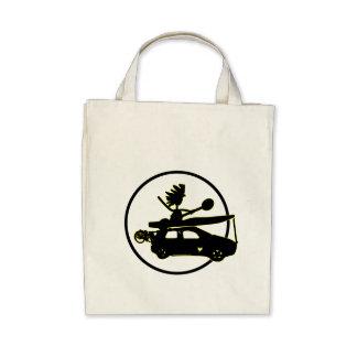 Coche de la bici del kajak - regalos del enfoque bolsa de mano