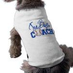 Coche de la bola de la camiseta camiseta de perro