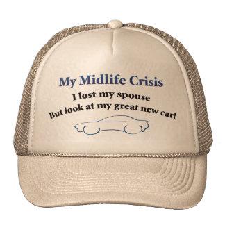 Coche de la crisis de la media vida gorro de camionero