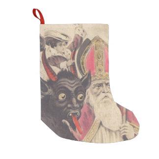 Coche de la gente del secuestro del St Nickolaus Calcetín De Navidad Pequeño
