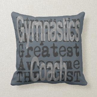Coche de la gimnasia Extraordinaire Cojín Decorativo