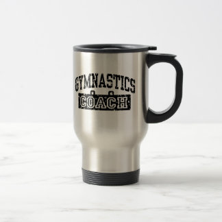 Coche de la gimnasia tazas de café