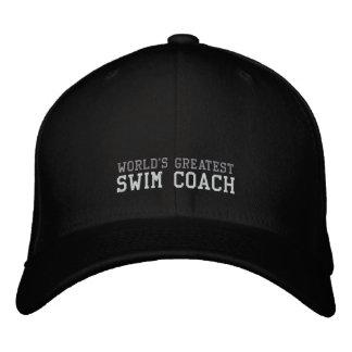 Coche de la nadada, el gorra más grande del mundo gorras bordadas