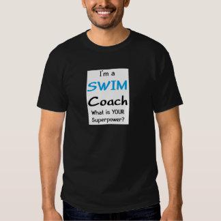Coche de la nadada playeras