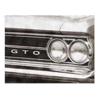 Coche de la obra clásica de GTO Postal