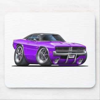 Coche de la púrpura del cargador de Dodge Tapete De Raton