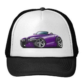 Coche de la púrpura del merodeador gorra
